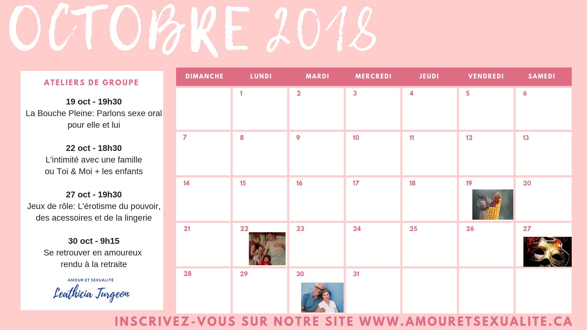 Calendrier des activités oct-nov-déc 2018 (4)